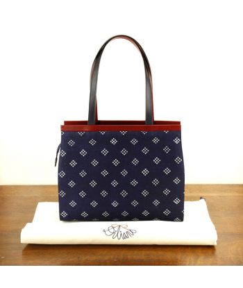 Dilians Handtasche Blaudruck  Angelika D170601