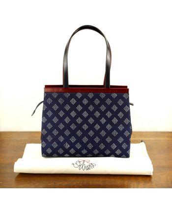 Dilians Handtasche Blaudruck  Angelika D270201