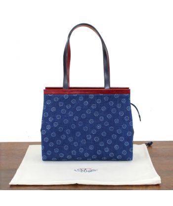 Dilians Handtasche Blaudruck  Angelika W020601