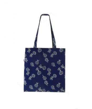 Dilians Blaudruck Schulter Einkaufstasche B2-A2702