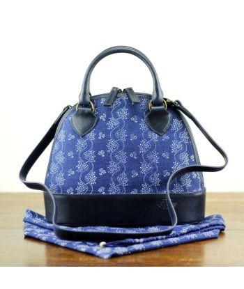 Dilians Henkeltasche  mit Blaudruck Jitka2 C020601