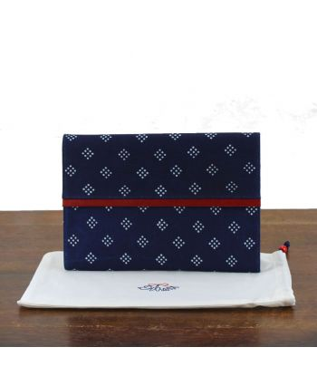 Dilians Blaudruck Clutch Tasche Maria D1702