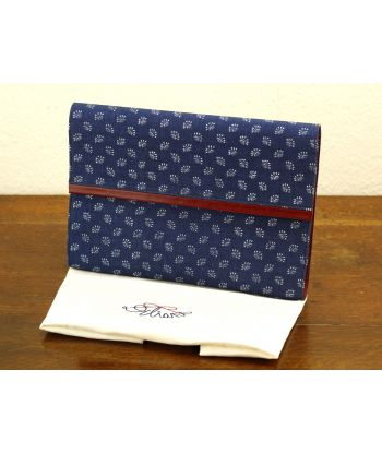 Dilians Blaudruck Clutch Tasche W0206