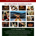 Der wunderbare Weihnachtsmarkt in Schloss Wackerbarth, Dresden